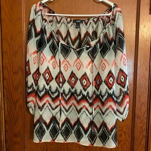 AGB Large Tunic Top